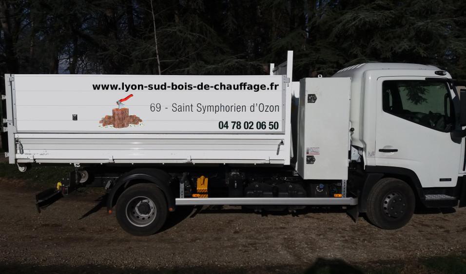 Accueil Lyon sud Bois de chauffage sur Chaponnay, Communay, Corbas, Marennes, Saint Symphorien d  # Camion De Bois De Chauffage